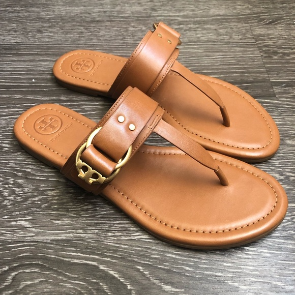 e1361d4a4f46 Tory Burch Sandals size 7.5! New! M 5c8d5d122beb791567b6bc99